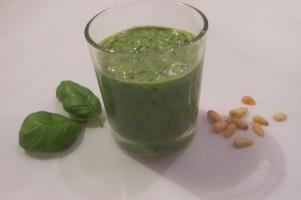Verse groene pesto zelf maken
