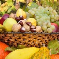 Seizoensgroenten en fruit  in september