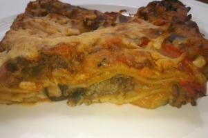 Gezonde lasagne bolognese